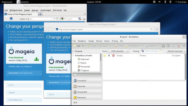 Firefox, Veeb ja Evolution