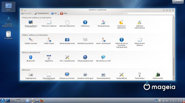 KDE seadistamine